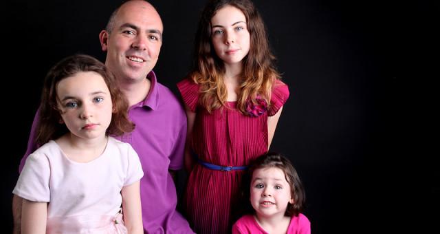 Family Studio Portrait | Anna Nowakowska Photography