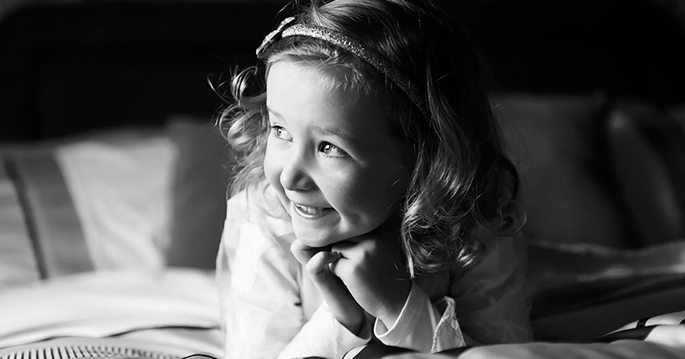 Relaxed kids portraiture session