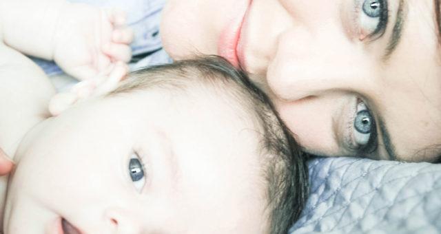Iarla and his Mum | Beautiful, natural newborn baby and family photography Dublin